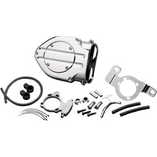 KURYAKYN HYPERCHARGER AIRCLEANER CHROME 99-16 TWIN CAM