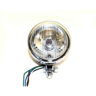 4 INCH HEADLAMP, PLAIN BULLET