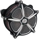 HARLEY BIG TWIN AIR CLEANER RSD CONTRAST CUT 93-17