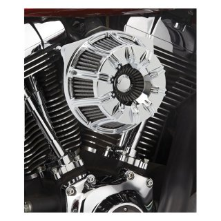 HARLEY SOFTAIL DYNA NESS 10-GAUGE INVERTED AIR CLEANER KIT